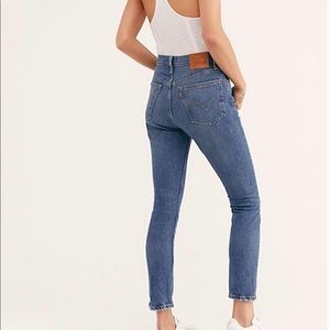 Levi's 501 we the people jeans